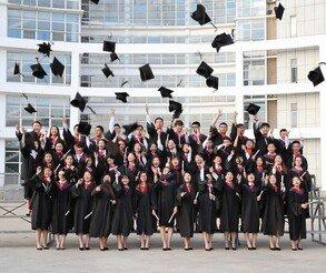 2020年9月份翰邦教育毕业学员合影